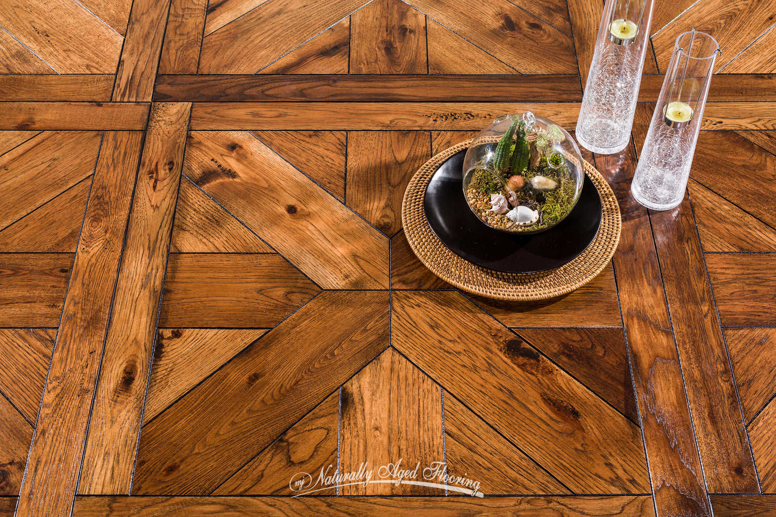 Cool Hickory Parquet With Photo Parquet