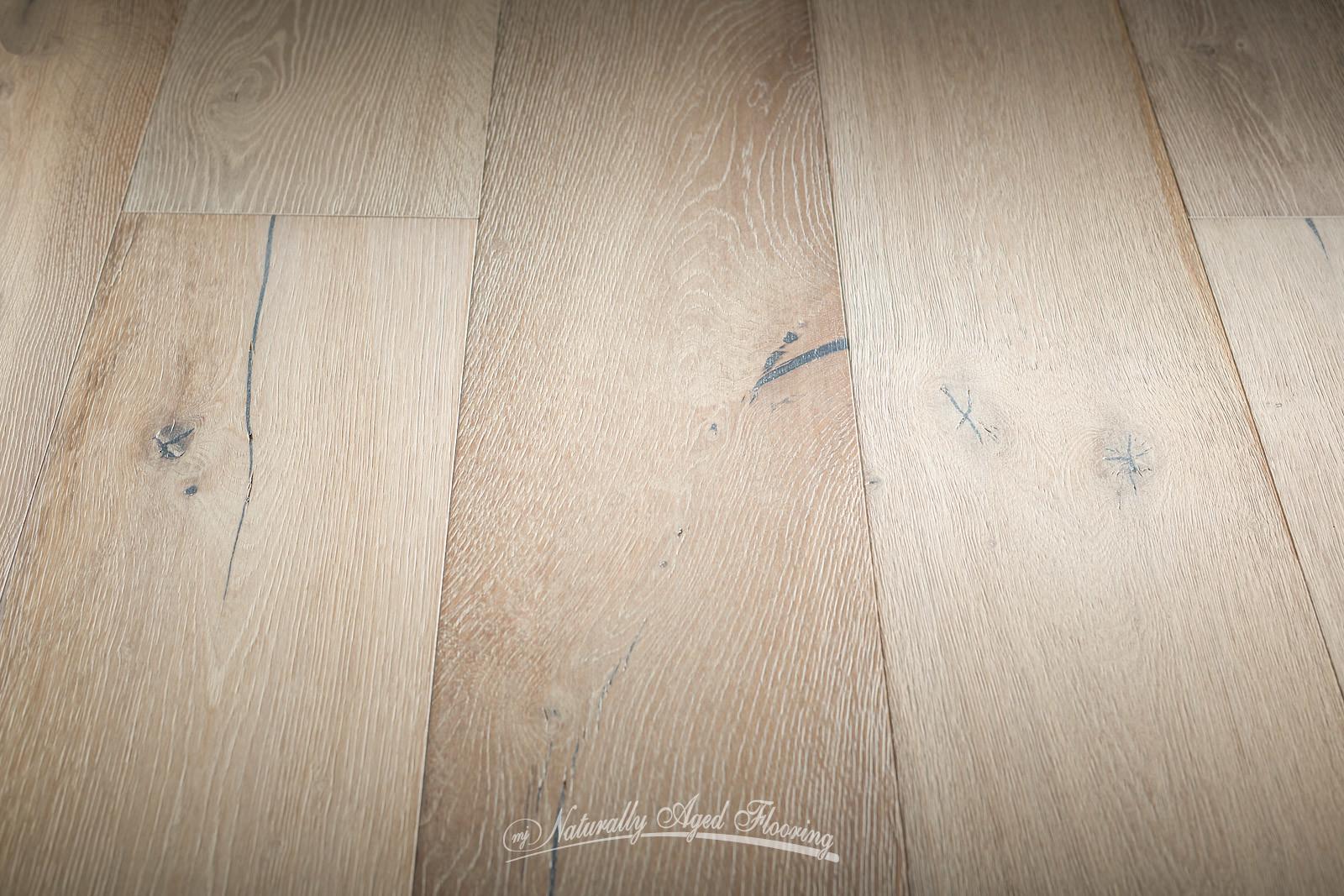 White Oil Naturally Aged Flooring