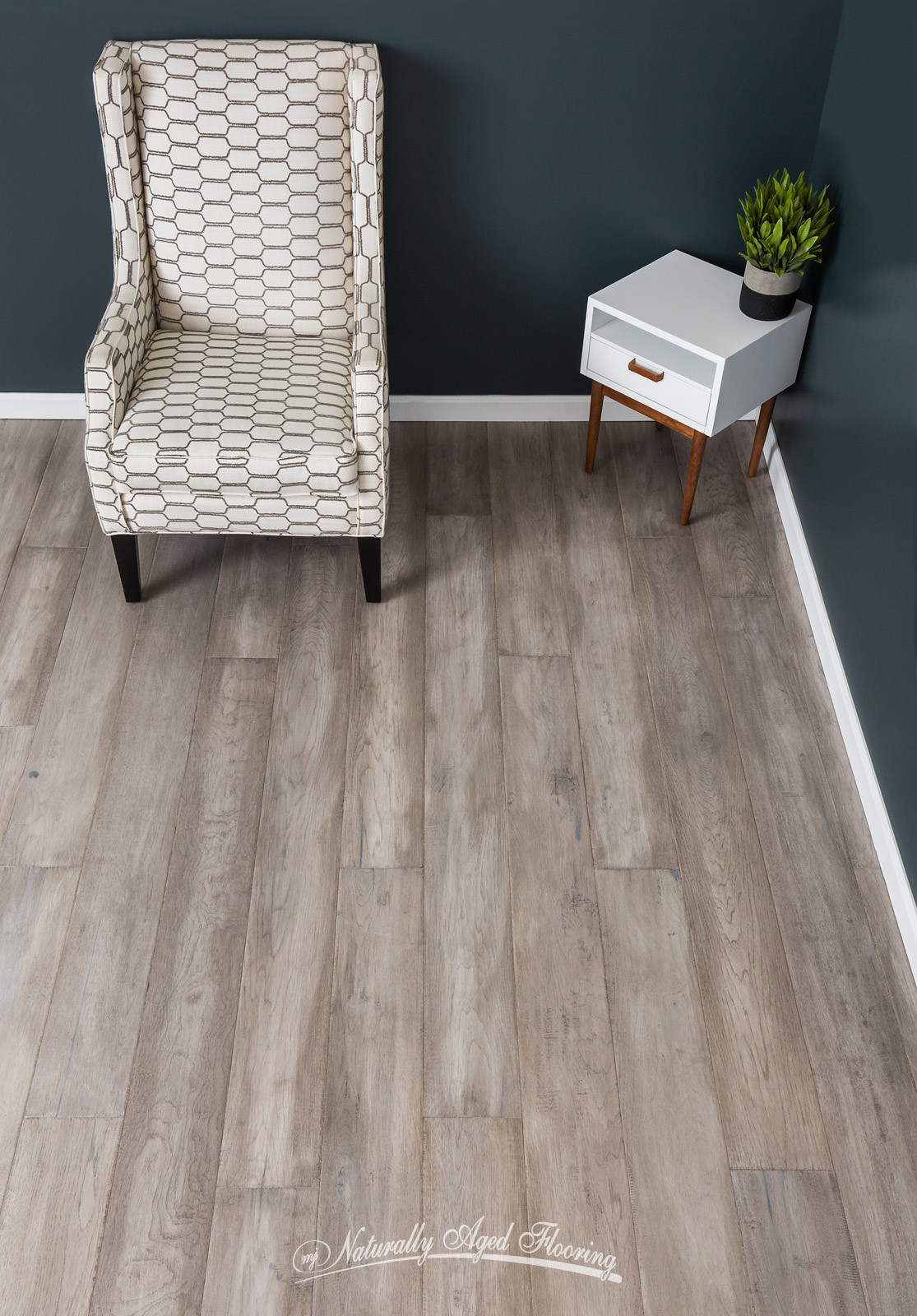 Gun Metal Naturally Aged Flooring