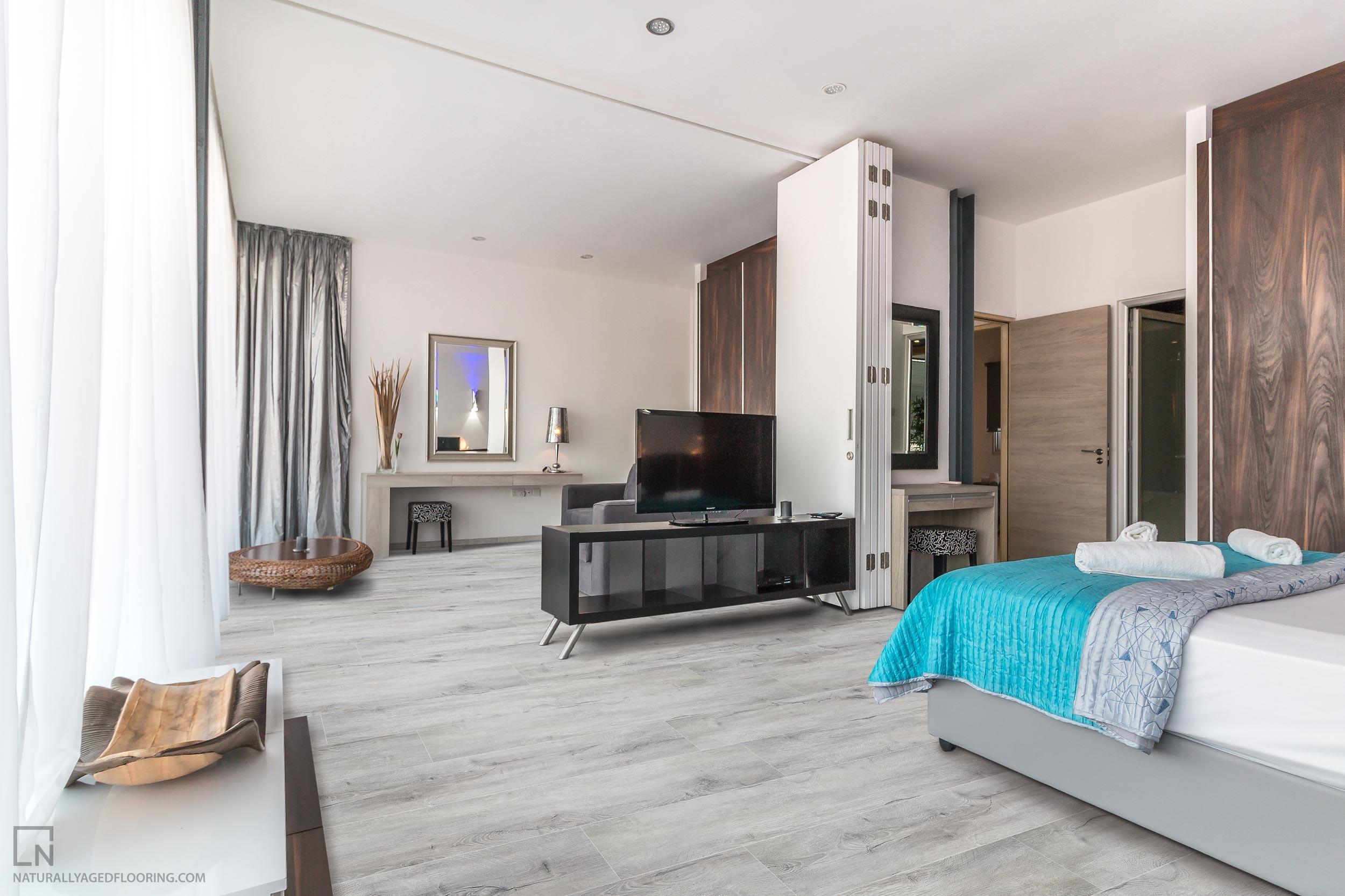 "8"" Granite Grey - Naturally Aged Flooring ™"