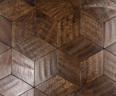 Oak Riftsawn Rhombus - 1