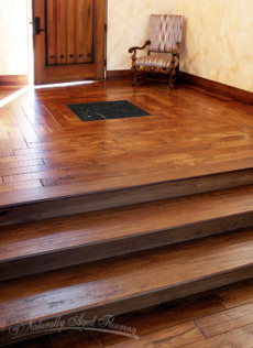 Parquet with Marble Inlay - 1