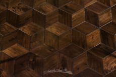 Walnut Rhombus - 2