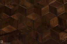 Walnut Rhombus - 2