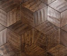 Rift Sawn Oak Rhombus Parquet - 1