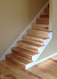 Pecan Treads and Risers - 1